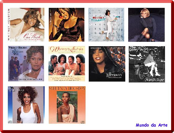 download Discografia Completa de Whitney Houston 1985 a 2009 Cd